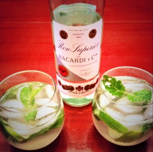The Runner's Mojito...a healthier version of the classic.
