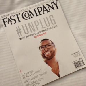 Phenomenal read...#Unplug